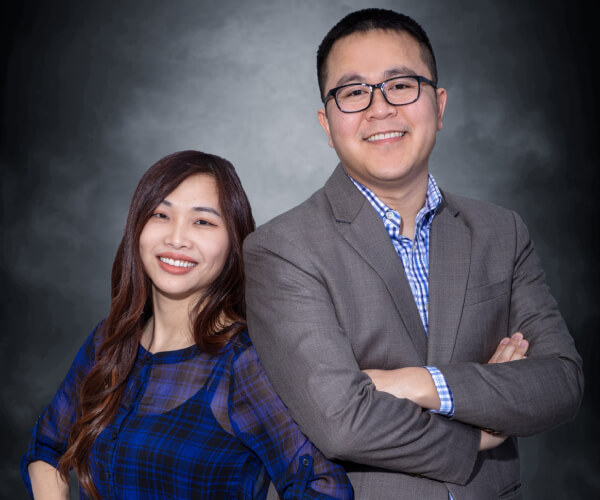 Dr. Nguyen and his Wife
